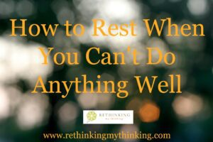 How to Rest